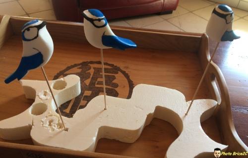Fabrication de l'oiseau